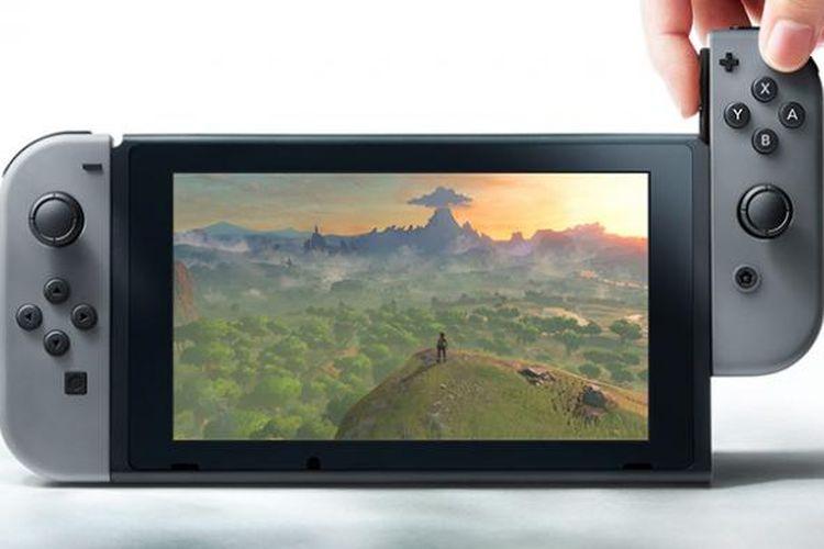 Ilustrasi Nintendo Switch