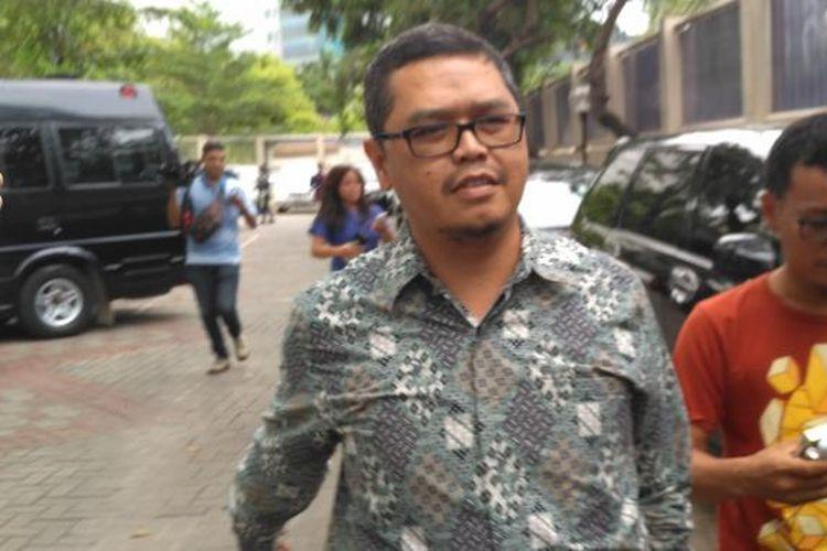 Wakil Ketua Komisi V Dewan Perwakilan Rakyat Yudi Widiana Adia di gedung KPK, Jakarta, Selasa (27/12/2016)
