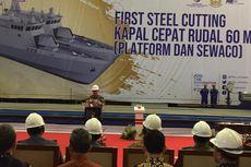 PT PAL Bangun 2 Kapal Perang Jenis KCR dengan Nilai Investasi Rp 1,6 Triliun