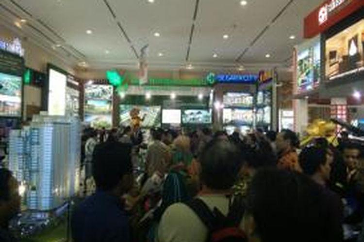 Pameran REI Expo 2015 ke-29 di Jakarta Convention Center, Sabtu (2/5/2015).
