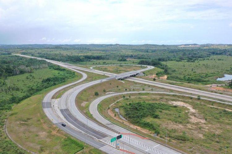 Jalan Tol Balikpapan-Samarinda.