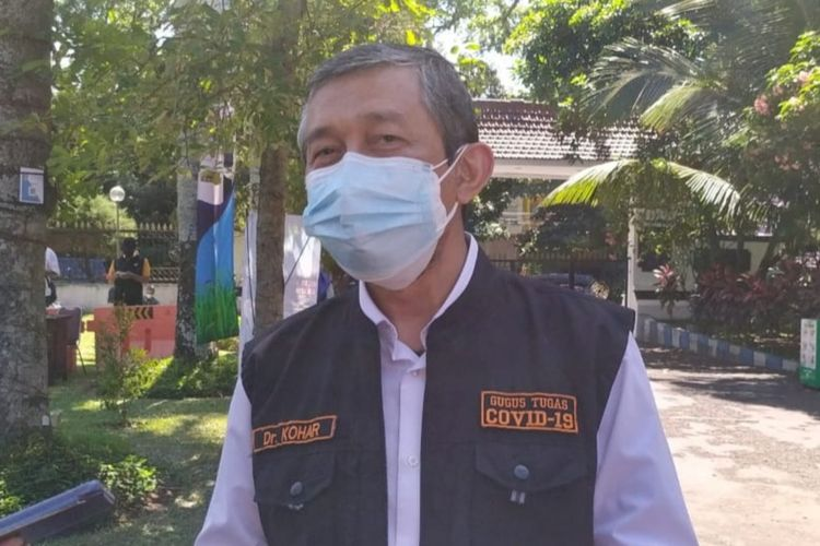 Direktur RSSA Kota Malang, dr Kohar Hari Santoso di Bakorwil III Malang, Senin (26/7/2021)