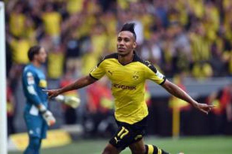 Striker Borussia Dortmund, Pierre-Emerick Aubameyang.