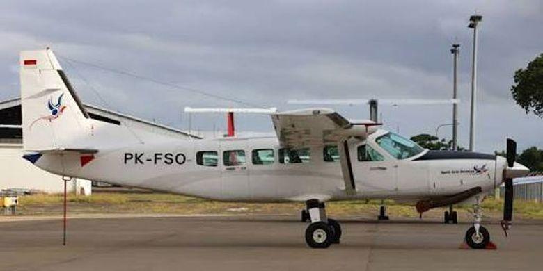 Ilustrasi pesawat jenis Cessna.