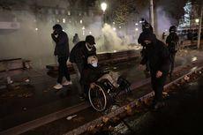 Demo di Perancis Berakhir Bentrok, Massa Bakar Kendaraan dan Hancurkan Teras Toko