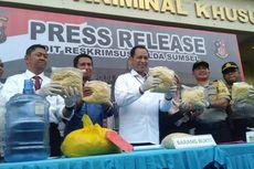 Polisi Gagalkan Peredaran 2,4 Ton Mi Basah Berformalin di Palembang