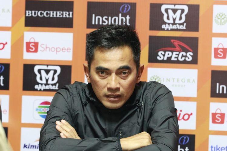 Pelatih PSS SLeman, Seto Nurdiantoro.