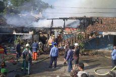 Pasar Onderdil Jeep Bekas Jatayu Ludes Dilalap Api