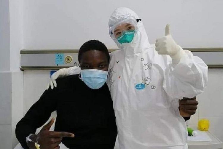 Kisah Orang Afrika Pertama yang Terpapar Virus Corona dan Sudah Sembuh