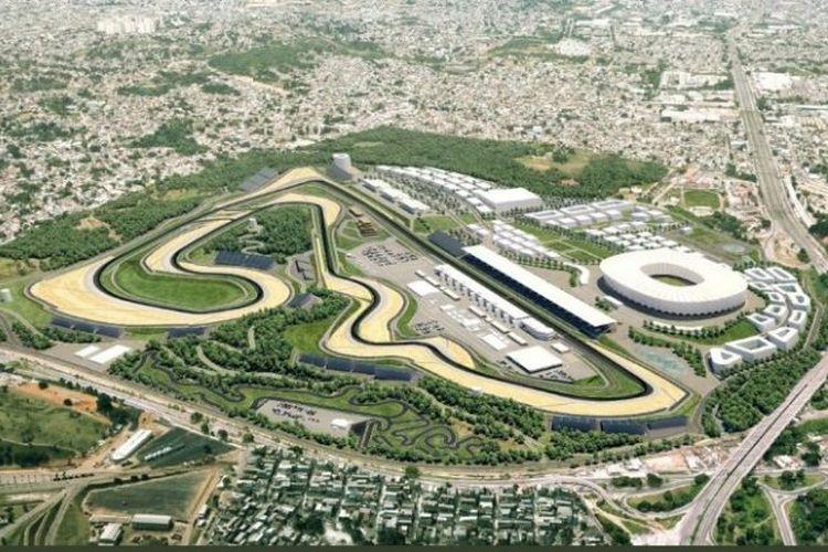 Brasil akan jadi tuan rumah MotoGP pada 2022-2026 di sirkuit baru Rio Motorpark.
