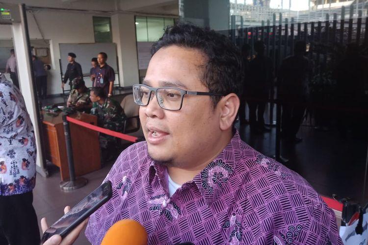 Komisioner Badan Pengawas Pemilihan Umum (Bawaslu) Rahmat Bagja di Kantor Bawaslu, Jakarta Pusat, Selasa (21/5/2019).