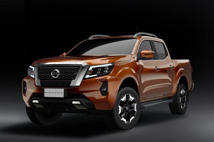 Tampilan Nissan Navara terbaru.