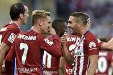 Atletico Madrid Buka La Liga dengan Kemenangan
