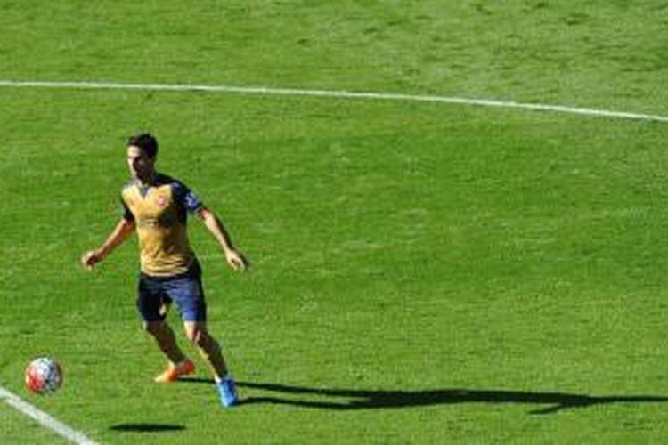 Gelandang Arsenal, Mikel Arteta.