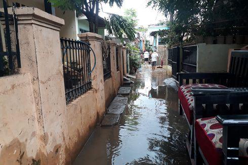 Banjir di 3 RW di Cipinang Melayu Belum Surut