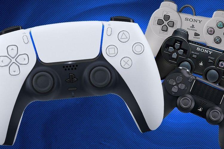 Sejumlah controller PS dari masa ke masa