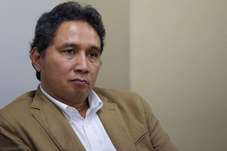 Direktur Jenderal Kebudayaan Hilmar Farid.