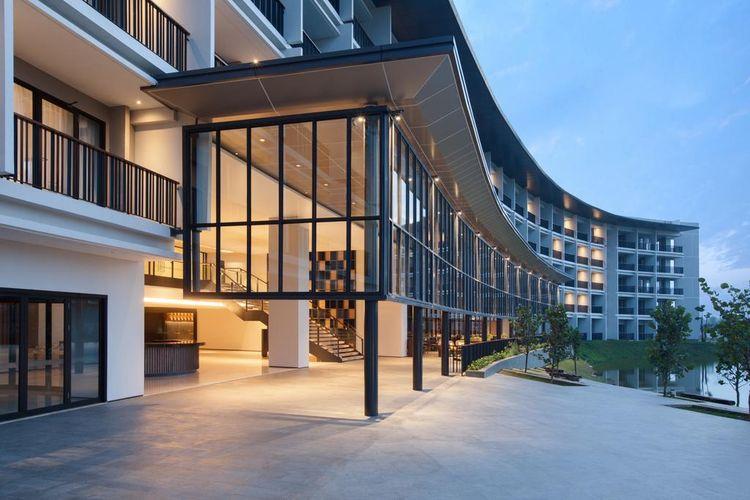 Hotel Santika Premiere Bandara, Palembang, Sumatera Selatan, tutup sementara.