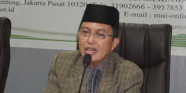Wasekjen MUI Nadjamuddin Ramly dalam Rapat virtual Satgas Penanganan Covid-19, Minggu (22/11/2020).