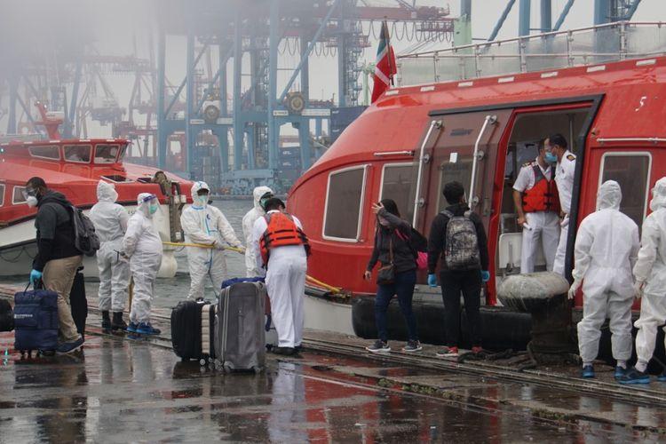 TNI AL Lakukan Evakuasi Medis ABK MV. Norwegia Escape