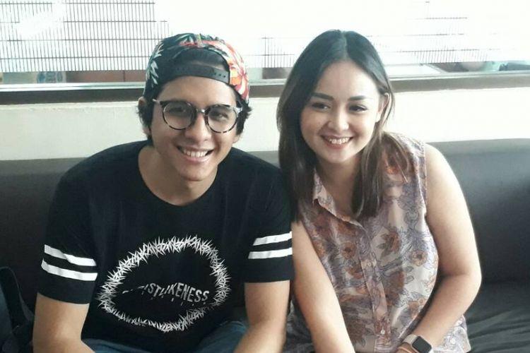 Joanna Alexandra dan Raditya Oloan diabadikan di RSIA Bunda, Menteng, Jakarta Pusat (30/5/2017).