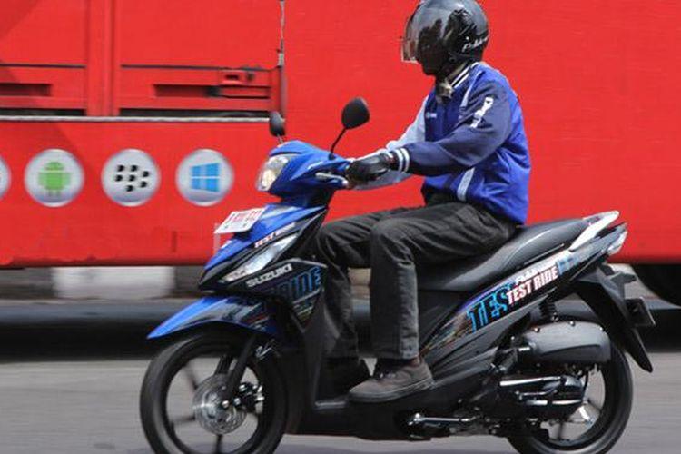 Suzuki Address mempunyai keunggulan di sisi keiritan bahan bakar.