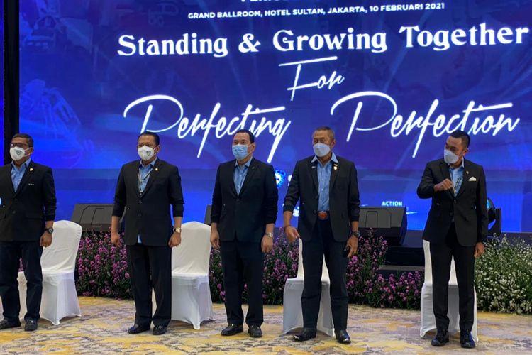 Pelantikan dan Pengukuhan Pengurus Pusat IMI ini sekaligus mengukuhkan Bambang 'Bamsoet' Soesatyo sebagai Ketua Umum IMI Pusat 2021-2024.
