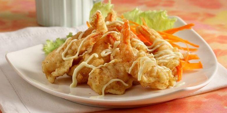 Resep Udang Goreng Mayones, Sajian Praktis ala Restoran