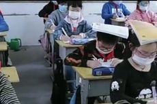 Tahan Buku di Kepala, Trik Sekolah China Cegah Rabun Jauh Muridnya
