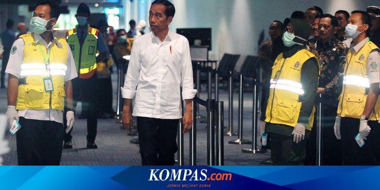 Minggu Sore, Jokowi Tes Virus Corona