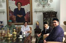 Megawati Terima Kunjungan KH Maimoen Zubair