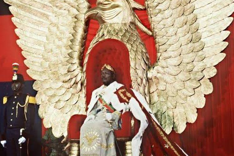 Kaisar Bokassa.