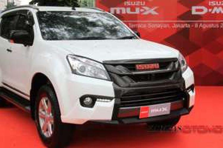 Isuzu mu-X facelift yang dibawa ke Indonesia tak membawa mesin baru 1.900 cc Blue Power.