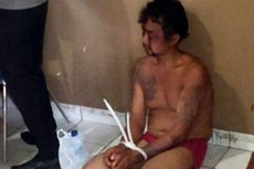 Sandera Anaknya, Buruh Giling Kelapa Babak Belur Dipukuli Warga