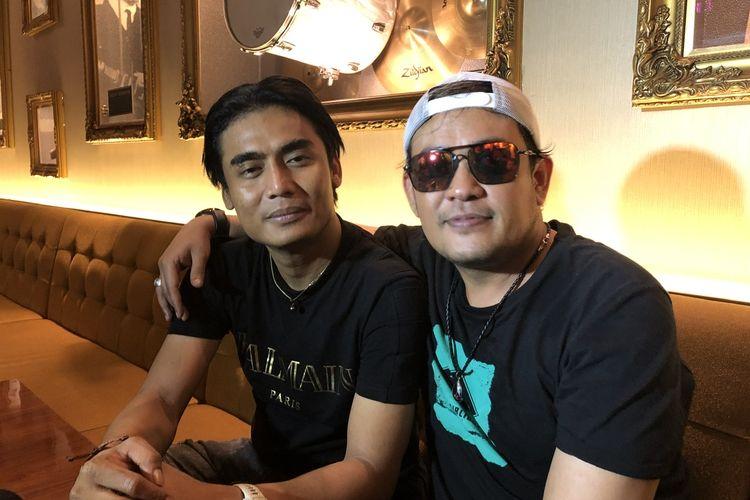 "Setia Band saat peluncuran lagu ""Tetap Setia"" di Pacific Place, Jakarta Selatan, Rabu (11/12/2019)."