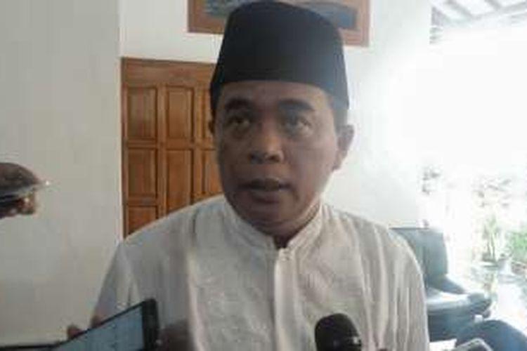 Ketua DPR RI Ade Komarudin saat ditemui di Purwakarta, Sabtu (5/11/2016).