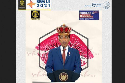 Jokowi Nilai Kritik dari BEM UI Bentuk Pembelajaran Menyampaikan Pendapat
