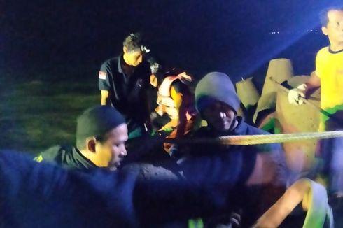 Ambil Kunci Terjatuh, Pemancing Terjepit Batu 100 Kg, Diselamatkan 15 Orang