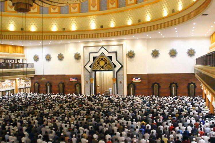 Suasana di Islamic Center Mataram, Kamis malam (17/5/2018), saat pembukaan Pesona Khasanah Ramadhan.