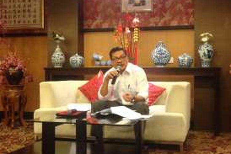 Kepala BI Perwakilan Jawa Tengah Iskandar Simorangkir