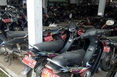 167 Sepeda Motor Terparkir hingga Berdebu di Kantor Setda Sukoharjo