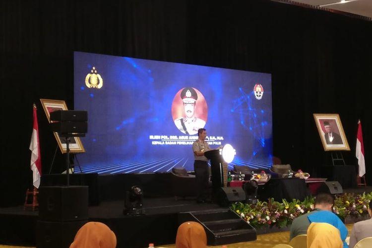 Kepala Badan Pemeliharaan Keamanan (Kabaharkam) Polri Irjen Agus Andrianto di Hotel Bidakara, Jakarta Selatan, Kamis (19/12/2019).