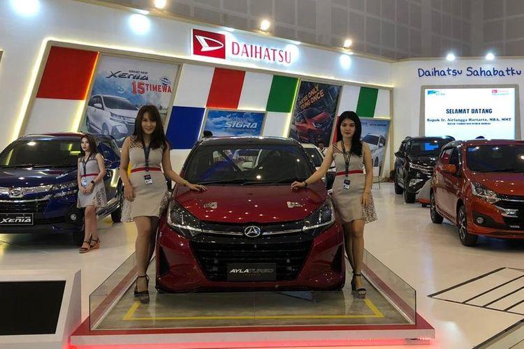 Daihatsu Ayla turbo sapa pengunjung GIIAS 2019 Surabaya