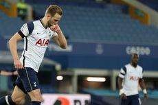 Hasil Everton Vs Tottenham - Sepakan Voli Kane Selamatkan Pasukan Mourinho