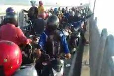 Pemotor Menumpuk di Jembatan Suramadu, Polisi: Mereka Takut Tes Antigen, Memilih Putar Balik