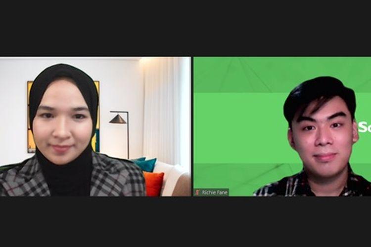 Dua mahasiswa Institut Teknologi Bandung (ITB) Yumna Dzakiyyah (Teknik Elektro 2019) dan Richie Fane (Teknik Industri 2019) berhasil ciptakan prototipe baterai organik dari alga merah.