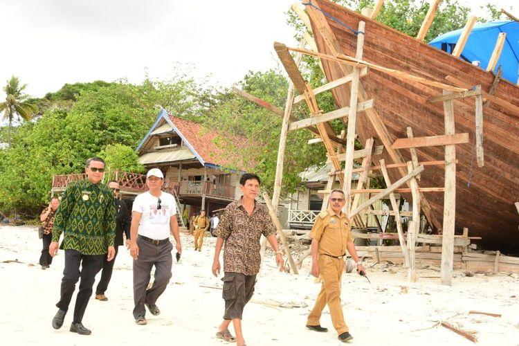 Nurdin Ingin Pantai Mandala Ria Jadi Destinasi Wisata Unggulan Sulsel