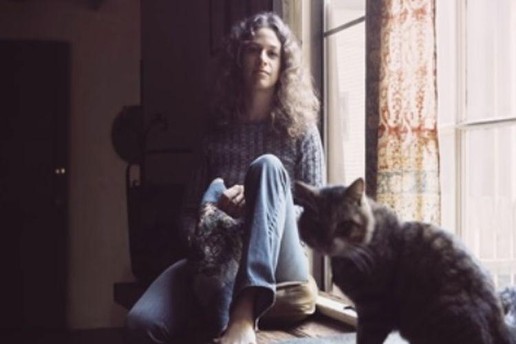 Cover Album Carole King yang berjudul Tapestry.