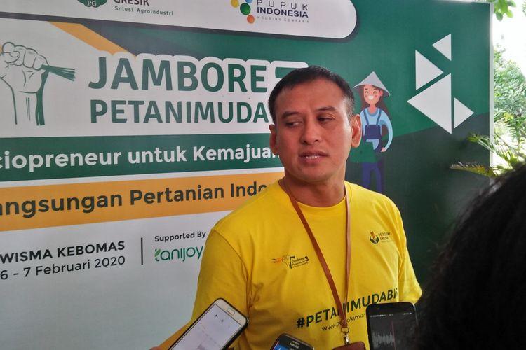 Direktur Utama Petrokimia Gresik, Rahmad Pribadi.