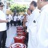 Cegah Penyebaran Covid-19, Pemkot Semarang Bagikan Wastafel Portable dan Antiseptik Gratis